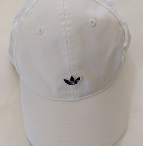 white adidas originals hat